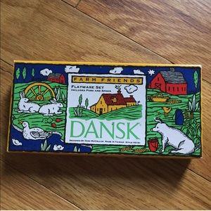 Dansk   Vintage Children's Flatware Farm Friends